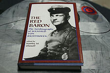 Autobiography Of WWI German Ace The Red Baron By S.M. Ulanoff (1969/1995)