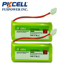2pc Home Phone Battery for Vtech BT184342 BT284342 BT8300 6041 6042 2.4v 800mAh