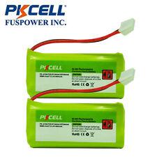 2pc Home Phone Battery for Vtech BT184342 BT284342 BT8300 6041 6042 2.4v 800mAh