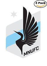 Minnesota United FC FC MLS Football Soccer Vinyl Sticker Decal 4X4