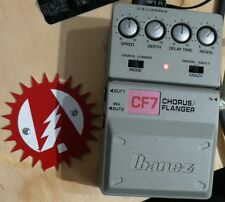Modify Your Ibanez CF-7 Chorus Flanger Guitar Effects Mod Service (No Pedal)