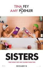 SISTERS ORIGINAL 27x40 MOVIE POSTER (2015) POEHLER & FEY