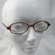 NEW MODERN OPTICAL SNEAKERS YOUTH EYEGLASSES FRAMES 45-18-130 BROWN BLUE