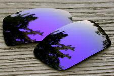 Polarized Deep Purple Mirrored Sunglass Lenses for Oakley Eyepatch 2- Grey Tint
