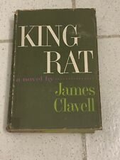 King Rat James Clavell First Edition 1st Acceptable/Good Hard Cover Dust Jacket