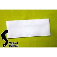 Michael Jackson Armbinde / Armband weiss Farbe 6cm x 38cm für MJ Fans 083