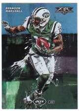 2015 Topps Fire Football Silver Foil Parallel #41 Brandon Marshall NY Jets