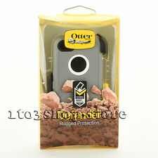 OtterBox Defender Rugged Hard Case Cover w/Holster for iPhone 5c Gray/White