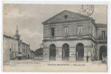 17 TONNAY BOUTONNE , HOTEL DE VILLE