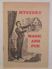 Magic Catalog, Warwick Press, 1940's, 16 Pages