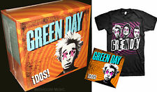 GREEN DAY CD Box DOS! + T-SHIRT UK Special Edition Boxed SEALED Size L or XL