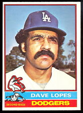 1976 TOPPS OPC O PEE CHEE BASEBALL #660 DAVE LOPES NM L A DODGERS FREE SHIP USA