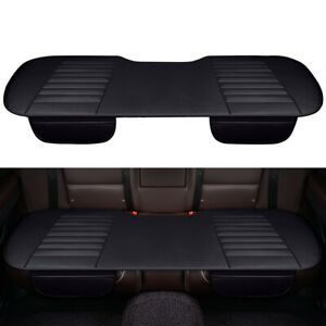 Auto Chair Cushion Pad Mat PU Breathable Protector For Car Rear Seat Cover