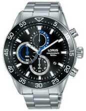Lorus | Heren Chronograaf | Zwarte Wijzerplaat | RM335FX9 Horloge