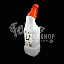 STIHL MIXING BOTTLE 1 LITRE FUEL CHAINSAW 50:1 25:1 REMOVABLE LID SCALES GARDEN