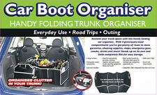 Quality 3-in-1 Car Boot Organiser Shopping Tidy Heavy Duty Foldable Storage New