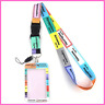 Lanyard Credit Card ID Holder Bag Badge Doctor Nurse Student Women Accessories
