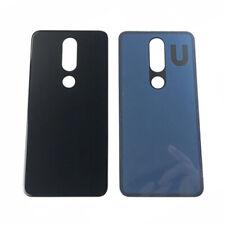 Back Glass Housing Battery Cover Fr Nokia X6 6.1 Plus Ta-1083/1099/1116/1103 Blk