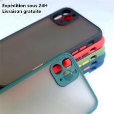 Coque Housse Silicone iPhone Protection 6/7/8plus Se2020 x/xs xr/ 11 /12 pro/max