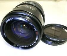 Minolta Maxxum 28-85mm f3.5-4.5 AF Lens SONY A mount α37 α67 α58 α68 SLR cameras
