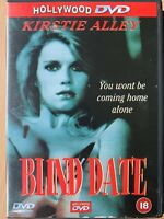 Blind Date DVD 1983 Mastorakis Erotic Exploitation Thriller w/ Kirstie Alley