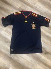 SPAIN NATIONAL TEAM WORLD CUP 2010 SOUTH AFRICA ADIDAS SOCCER JERSEY MEDIUM