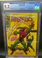 Avengers #52 - First Appearance of Grim Reaper! CGC 9.2 - Wandavision Foe?