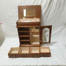 Jewellery Box Chest with Drawers with 1 door with flower design