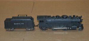 Vintage 1950 Marx 666 Steam Locomotive Engine w/ 1960 Coal Tender