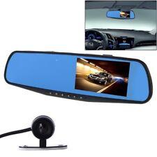 Specchietto Retrovisore Monitor Dvr Registra Video Retromarcia 2 Telecamere Linq