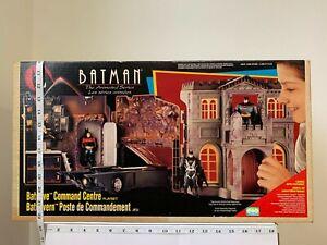 1993 Batman The Animated Series Batcave Command Center Play Set