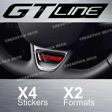 Stickers GT line volant X4 autocollants Insert pour Renault Megane clio VinylPro