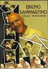 Bruno Sammartino Shoot DVD WWE WWF WCW WWWF Backlund McMahon Hogan Billy Graham