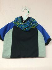 """Dog Hoodie Shirt Short Sleeve  Adorable Retail $22. """"On Sale Now """"Size Large"""