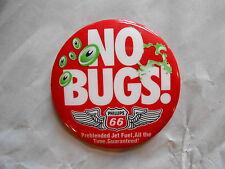 Vintage Phillips 66 Preblended Jet Fuel No Bugs Advertising Pinback Button