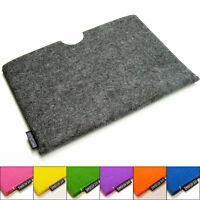 Surface Go felt sleeve case wallet, UK MADE, PERFECT FIT. 7 colours!