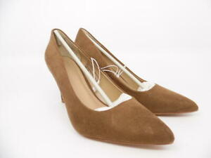 A New Day Women's Gemma Pointed Toe Pumps - Cocoa (Brown) - Size 7.5 Heels Shoes
