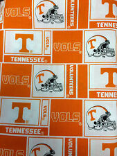 TENNESSEE VOLUNTEERS COTTON FABRIC-TENNESSEE QUILTING COTTON FABRIC-TEN097