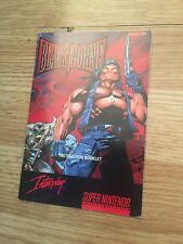 Black Thorne Manual Only Super Nintendo Snes