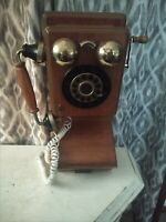 Vintage 1927 Country Store Replica Crank Wall Telephone Spirit of St. Louis