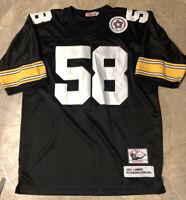 Jack Lambert Pittsburgh Steelers Jersey, Vintage Throwback- Size 52 / 2XL