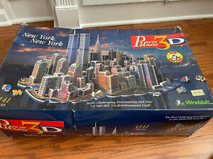 Wrebbit 3D New York New York Puzzle With Twin Towers