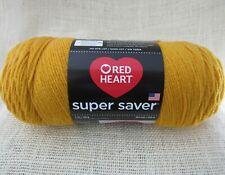 Red Heart Super Saver Yarn 100% Acrylic 7 oz In Gold