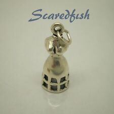3D DRESS FORM  925 Sterling Silver Charm Pendant with jump ring