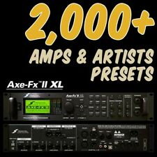 ✪ Fractal AXE FX 2 XL PRESETS ✪ Platinum Collection 2,000+ patches & 300 Cabs