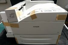 Lexmark W840n - Din A3 Drucker - S/W Laser Netzwerk Printer USB DirektPort Neuw.