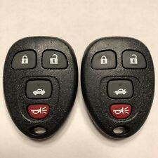 2 New OEM Electronics Keyless Entry Remote Key Fobs 4 Button KOBGT04A 15252034