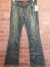 Guess Jeans Womens 28 NWT Miami Bronze Foil Wash Stretch Distressed (3B25)