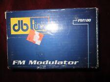 FM100 car FM wireless modulator kit 7 channels PLL FM  stereo transmitter