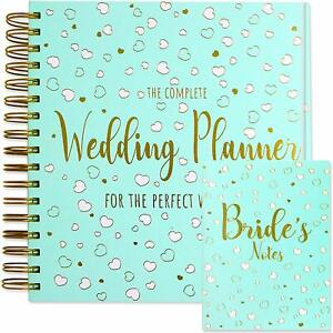 Wedding Planner and Notebook - Luxury UK Brides Diary Organiser Engagement Gift